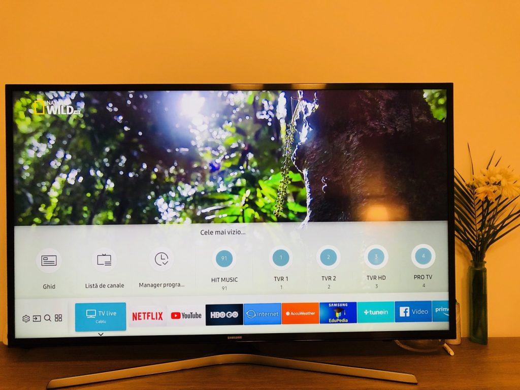Recomandare Smart TV Samsung: cum se misca modelul cu 4K UltraHD